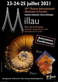 50th Millau International Fossil Minerals Gems Exchange