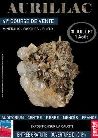 41° Scambio di minerali, fossili e gioielli ad Aurillac