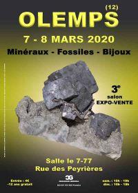 3a fiera per gioielli con minerali fossili
