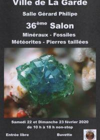 36 ° scambio di minerali e fossili