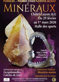 57a Géologic fiera per minerali, fossili e pietre preziose
