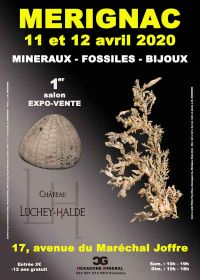 1a edizione della fiera per minerali, fossili e gioielli