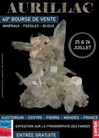 40a borsa di studio con minerali fossili e gioielli