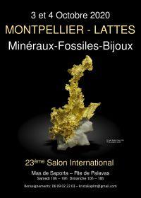 Scambio internazionale Minerali Fossili tagliano pietre Lattes Montpellier