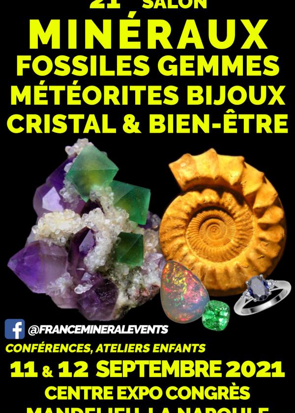 21a Fiera delle gemme dei minerali fossili