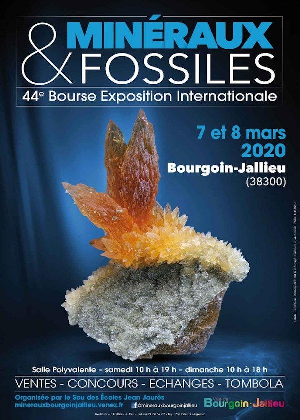 44 ° scambio di minerali e fossili e scambio di scambi