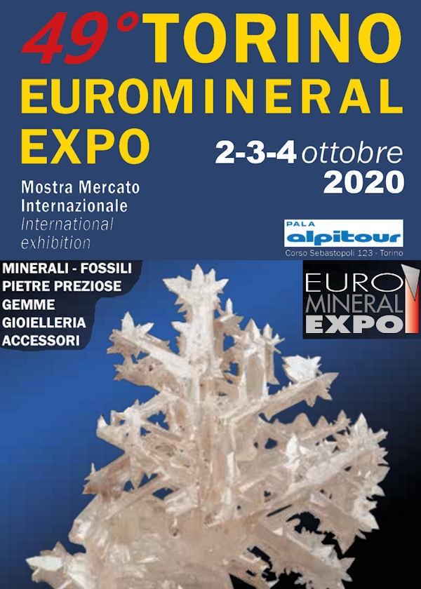 49 ° Expo Euro Minerale di Torino