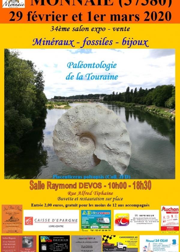 34a fiera espositiva per minerali e fossili