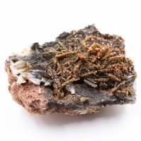 Cristalli di vanadinite su ganga