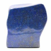 Blocco di pietra di lapislazzuli astratta forma ornamentale