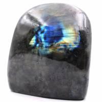 Blocco di pietra labradorite per decorazione e collezione