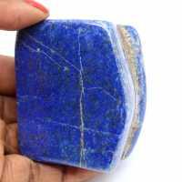 Lapislazzuli naturale lucido