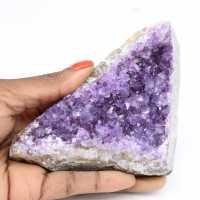 Uruguayische Amethystkristalle