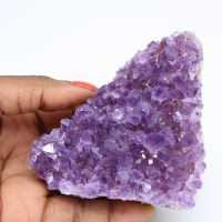 Kristallisierter Amethyst