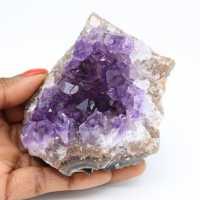 Natürliche Kristallisation von Amethyst