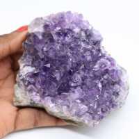 Natürlicher kristallisierter Amethyst