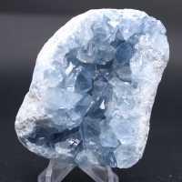 Blocco di cristalli naturali di Celestite