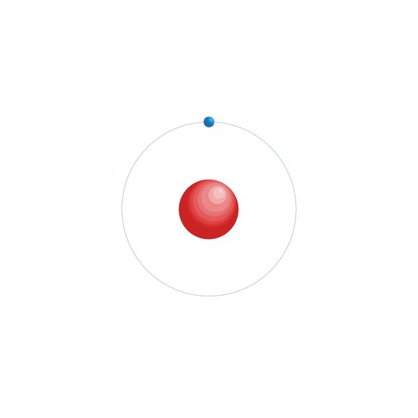 idrogeno Schema di configurazione elettronico