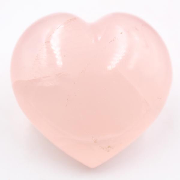Cuore di quarzo rosa