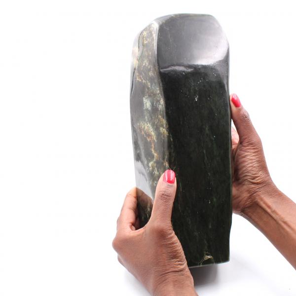 Jade Stone Nephrite forma libera di ornamento