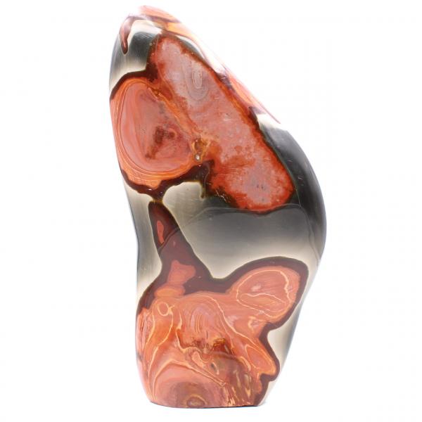 Blocco decorativo in diaspro stampato, rosa marrone arancio