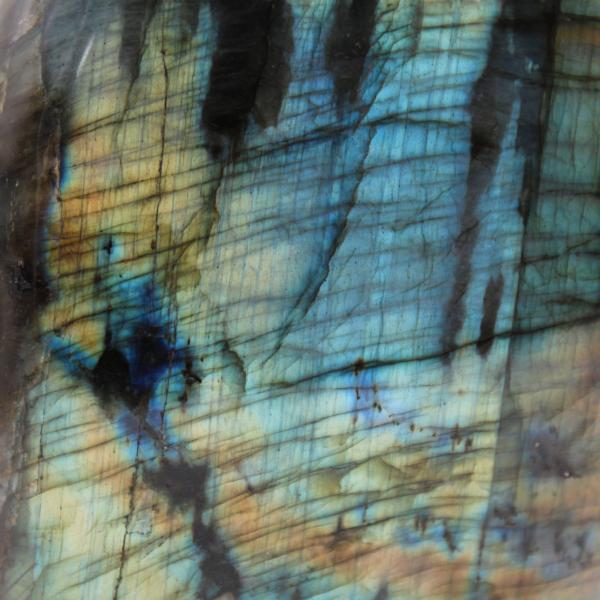 Pietra ornamentale labradorite multicolore