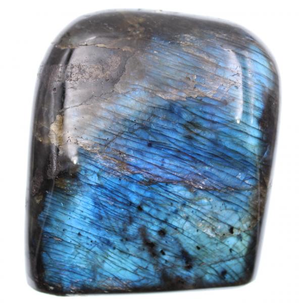 Blocco di labradorite di colore blu