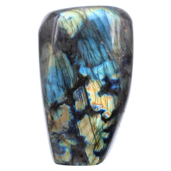 Pietra ornamentale gialla labradorite blu