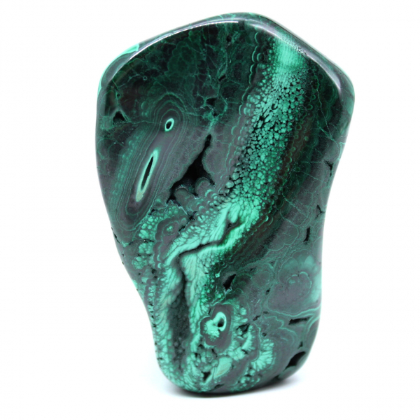 Pietra ornamentale in malachite