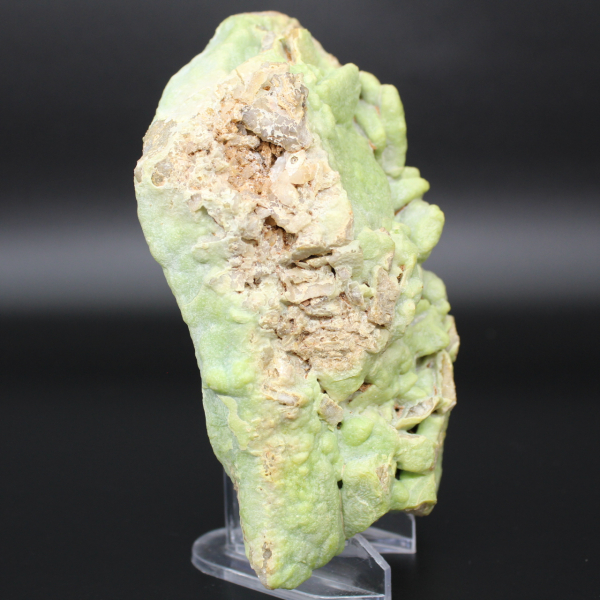 Piromorfite verde in lastra