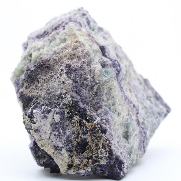 Massiccia fluorite verde viola