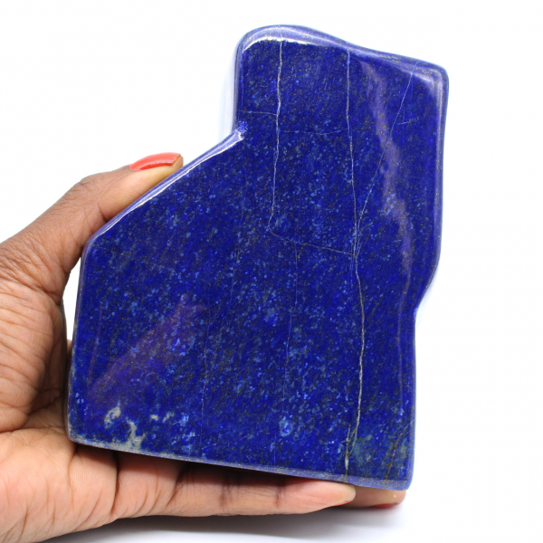 Grande blocco di lapislazzuli lucido da collezione